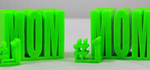 objet imprimer 3D fete des meres pot crayon