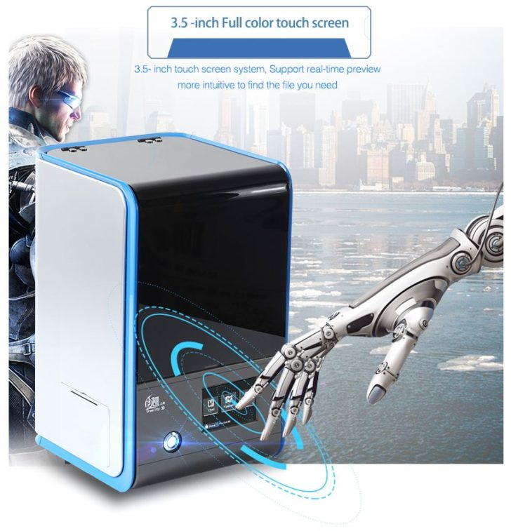 Imprimante 3D CREALITY3D LD-001 LCD-001 00