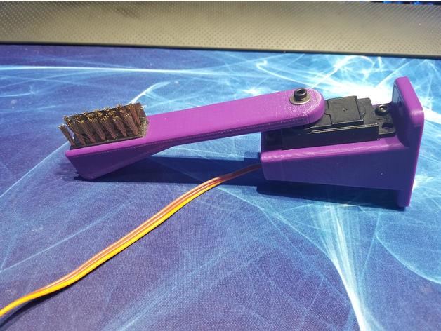 brosse douce en bronze nettoyage tête imprimante 3D
