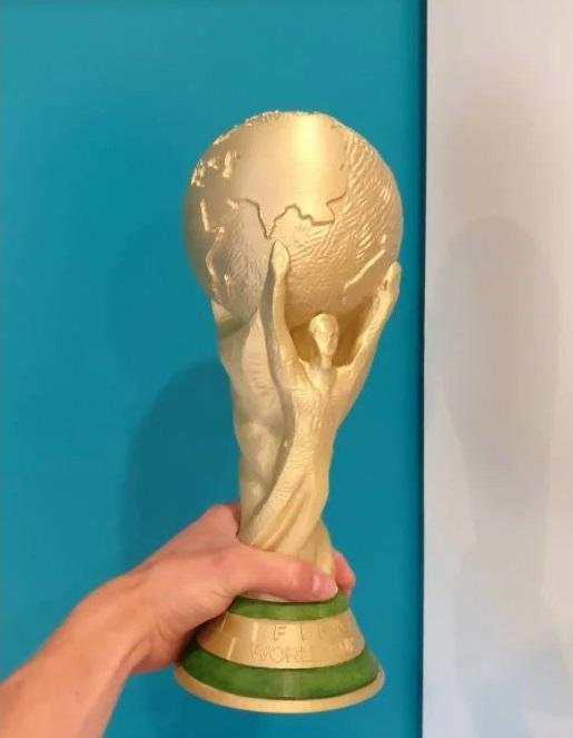 coupe du monde 2018 imprimée en 3D