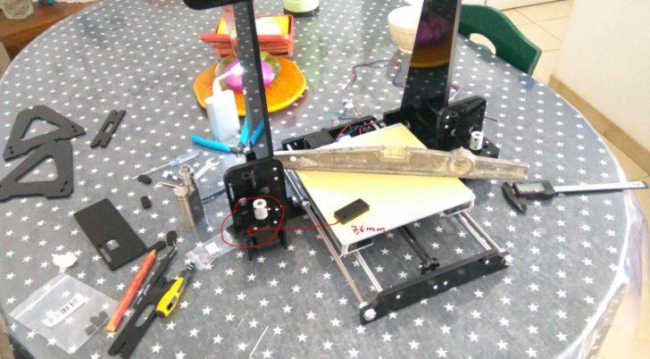 montage imprimante 3D anet A8
