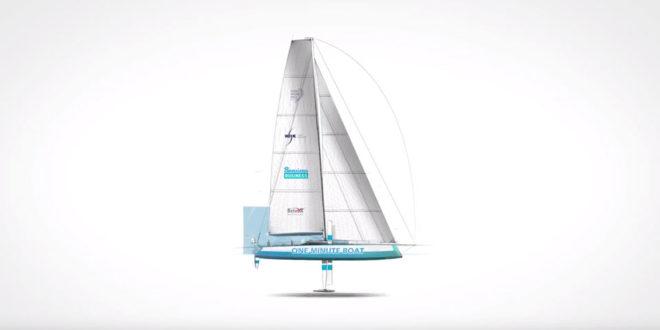 bateau yacht 3d plastique dechet ocean