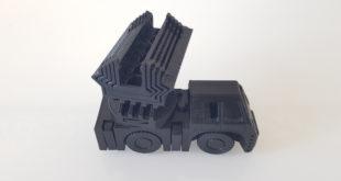 Alfawise U20 camion pompier imprimé en 3D 1