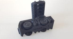 Alfawise U20 camion pompier imprimé en 3D 3