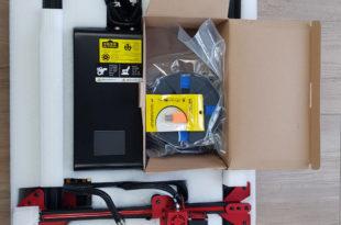 Test Imprimante 3D Alfawise U20 Unboxing 006