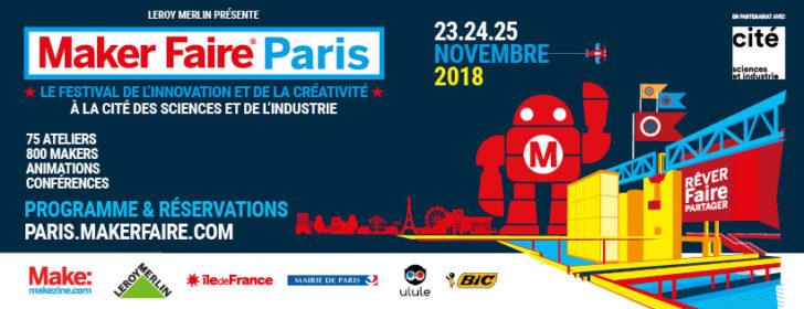Maker Faire Paris 2018