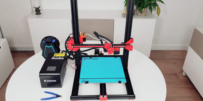 test imprimante 3D Alfawise u20