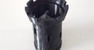 tour imprimée en 3D U20 2