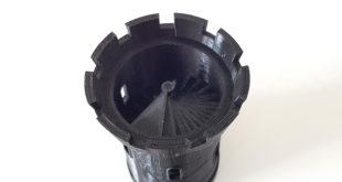 tour imprimée en 3D U20 3