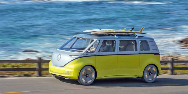 photo van combi Volkswagen ID Buzz VW