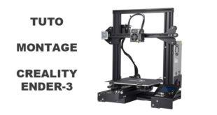 tutoriel monter imprimante 3D Creality Ender-3 Ender