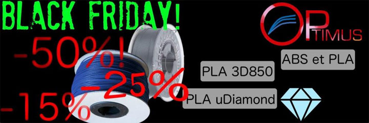 Black Friday Filament-ABS