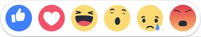 reaction facebook