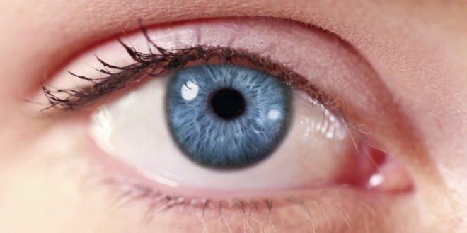 oeil imprimé en 3D