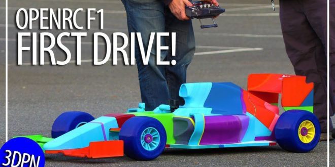 F1 imprimée en 3D