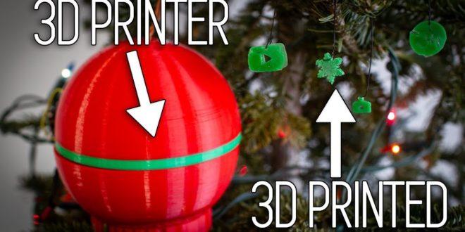 boule de noel imprimante 3D