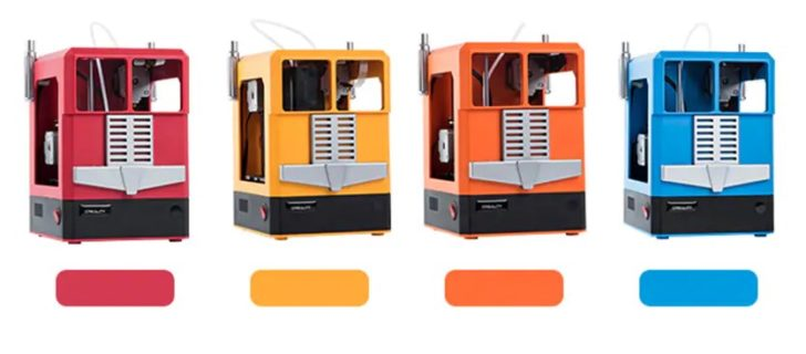 coloris Creality 3D CR-100