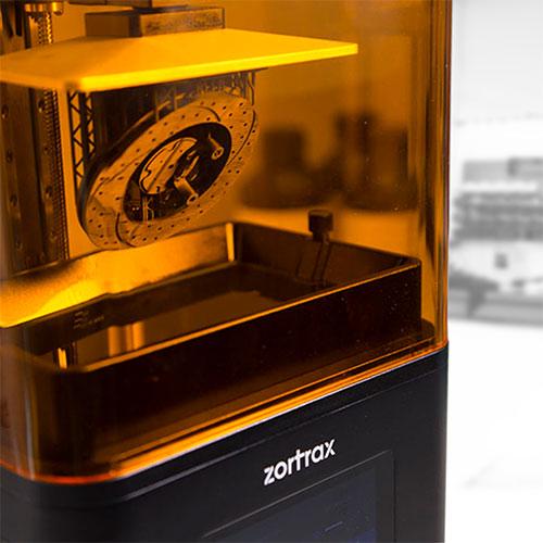 photo imprimante 3D Zortrax Inkspire UV LCD DLP