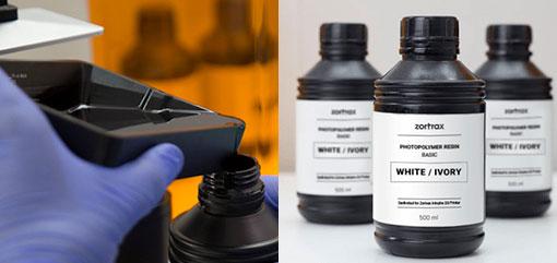 photo imprimante 3D Zortrax Inkspire UV LCD DLP resine