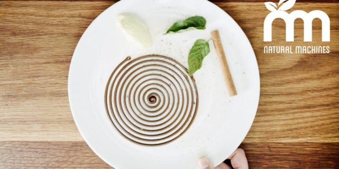 imprimante 3D chocolat foodinio