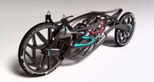 moto Saline Angel imprimée en 3D