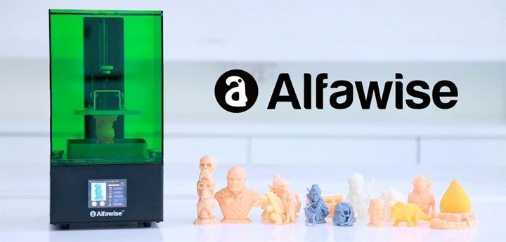 Alfawise W10 imprimante 3D SLA photo