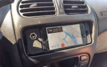 porte telephone smartphone Peugeot 206 iPhone