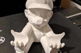 mario imprimé en 3D