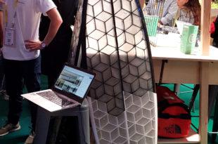 vivatech 2019 planche de surf imprimée en 3D