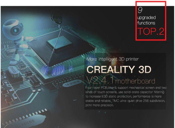 Carte mère Creality CR-10S Pro hack