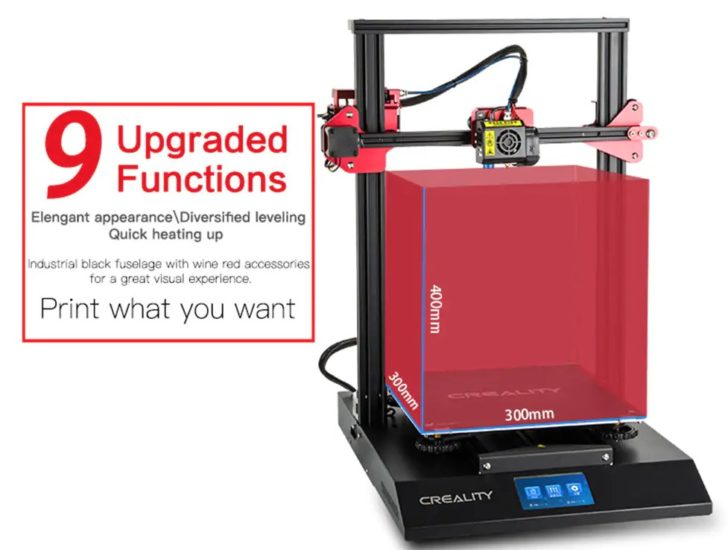nouveautés Creality3D CR-10S Pro
