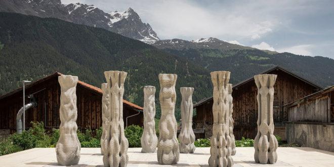 colonnes ETH zurich 3D