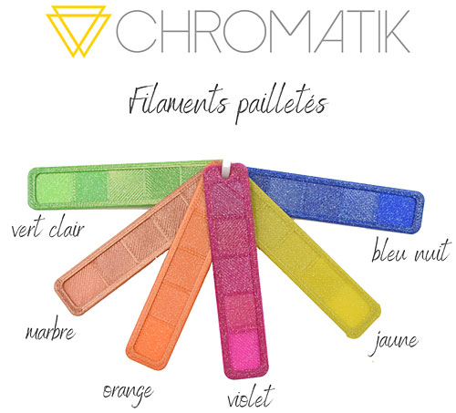 dagoma pla chromatik pailleté