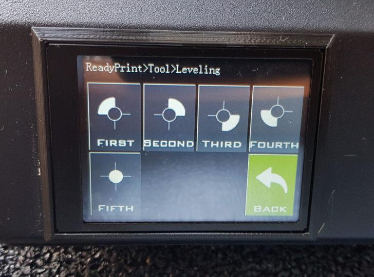 X1 Auto Leveling