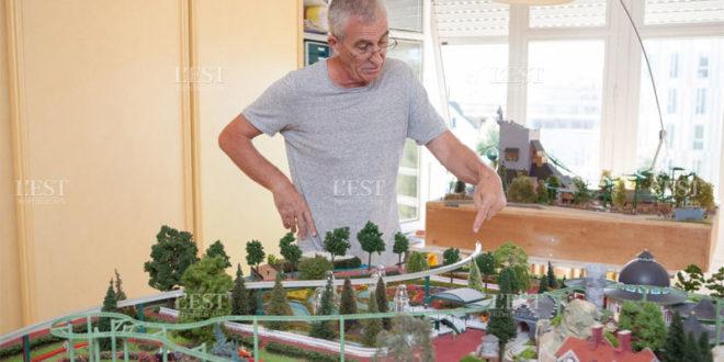 Il reproduit les attractions Europa Park en impression 3D