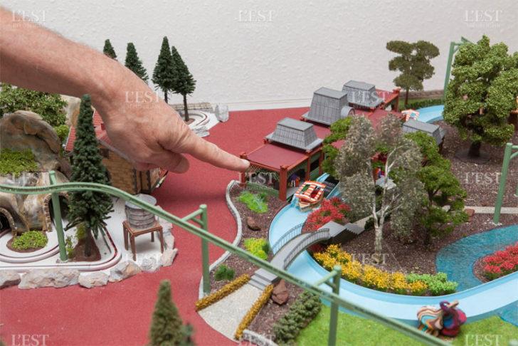 Europa Park imprimante 3D maquette modelisme