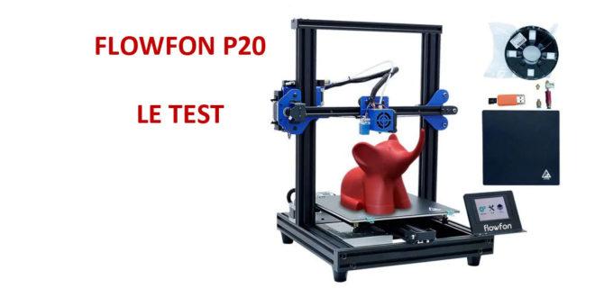 photo imprimante 3D Flowfon P20