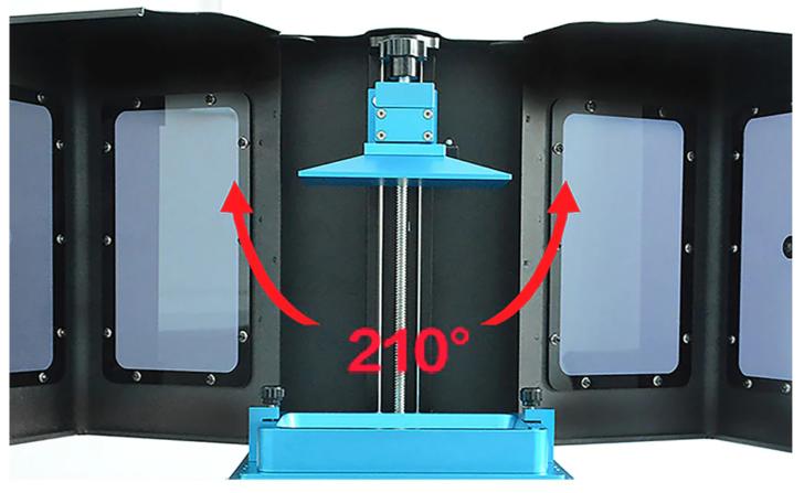 Tronxy Ultrabot UV double door