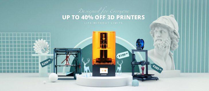 promo gearbest bon plan imprimante 3D pas cher