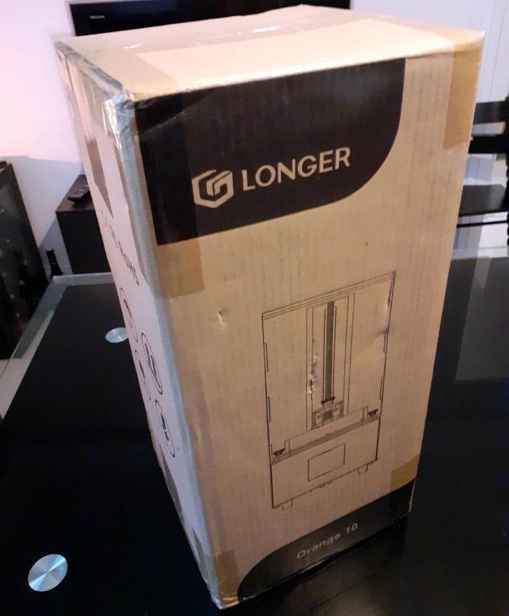 Longer3D Orange10 carton unbox