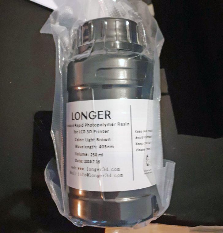 resine SLA Longer Orange 10