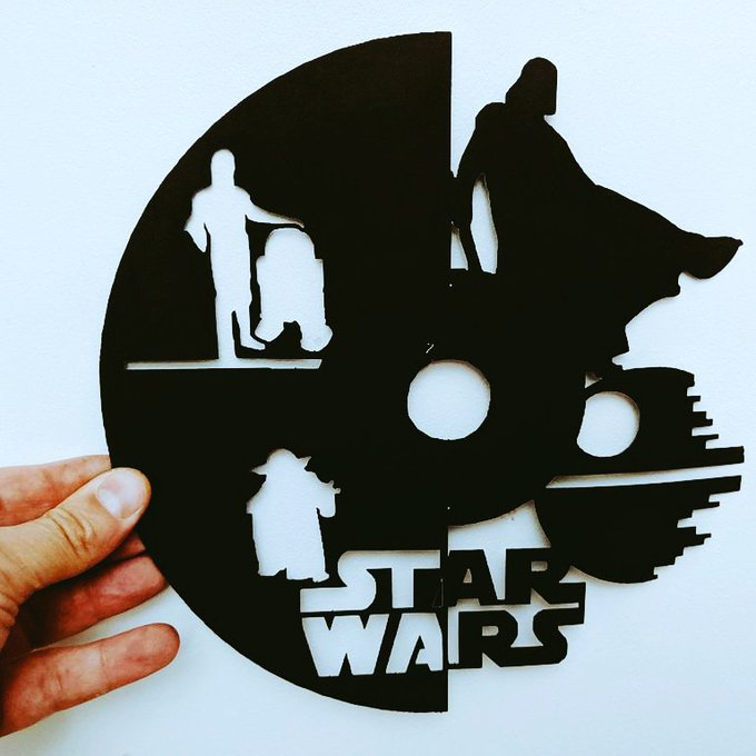 découpe laser star wars