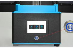 test Tronxy Ultrabot UV écran