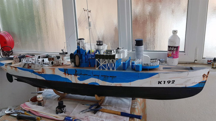 bateau imprimé en 3D Dagoma