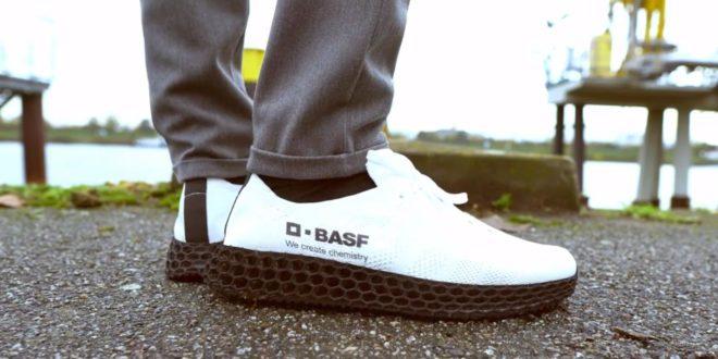 chaussures imprimées en 3D BASF
