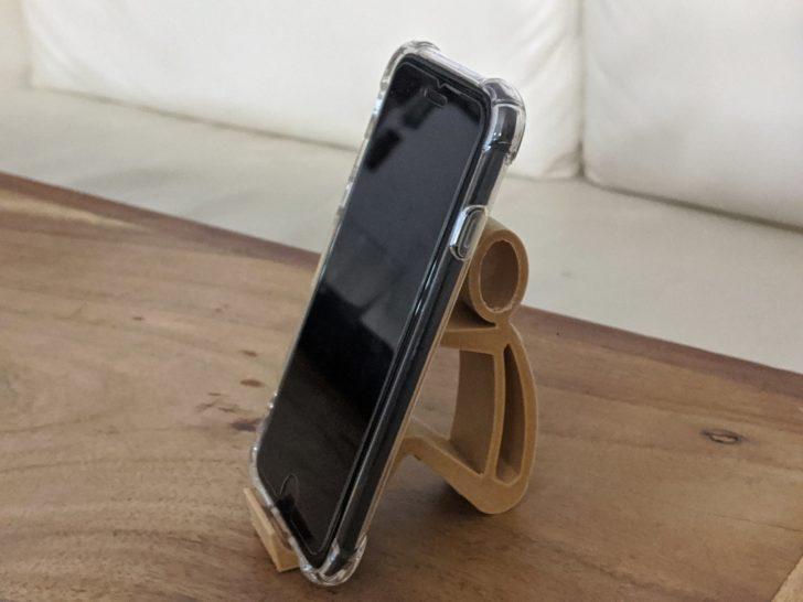 Support de téléphone imprimé en 3D avec l'EcubMaker
