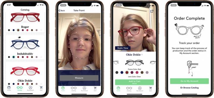 Fitz Frames monture lunettes sur mesure enfant