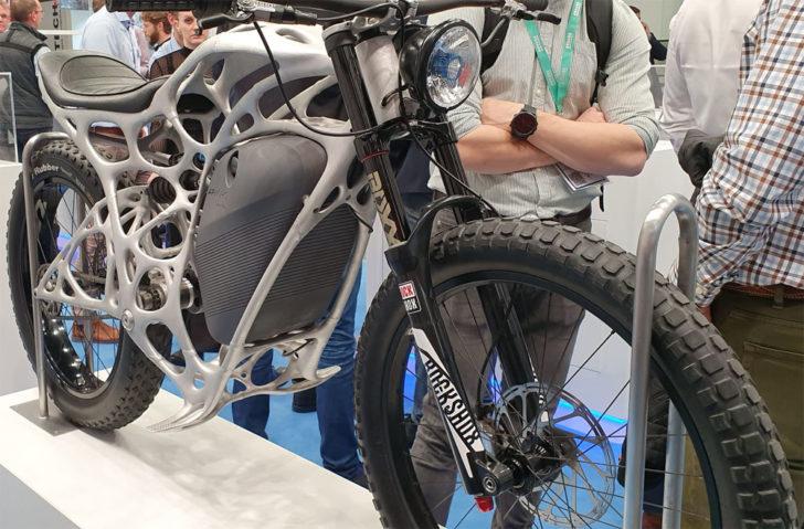 photo moto imprimée en 3D