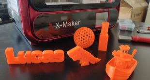 test imprimante 3D Qidi Tech X-Maker