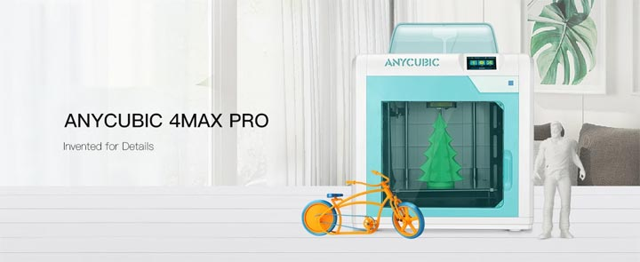 Anycubic 4Max Pro imprimante 3D